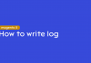 how to write log in magento 2